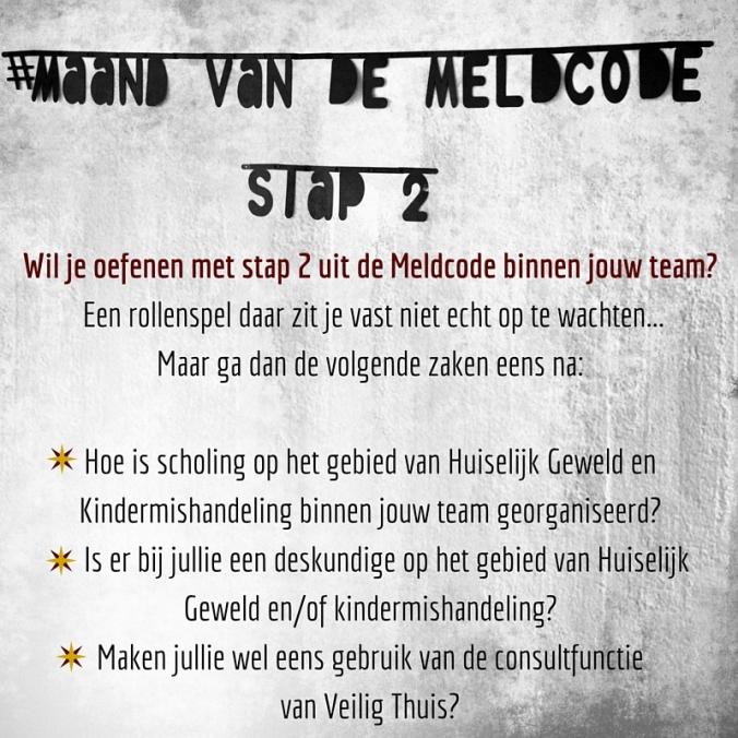 Wil je oefenen met stap 2 uit de Meldcode binnen jouw team? Een rollens